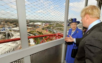 The Queen at Olympic Park