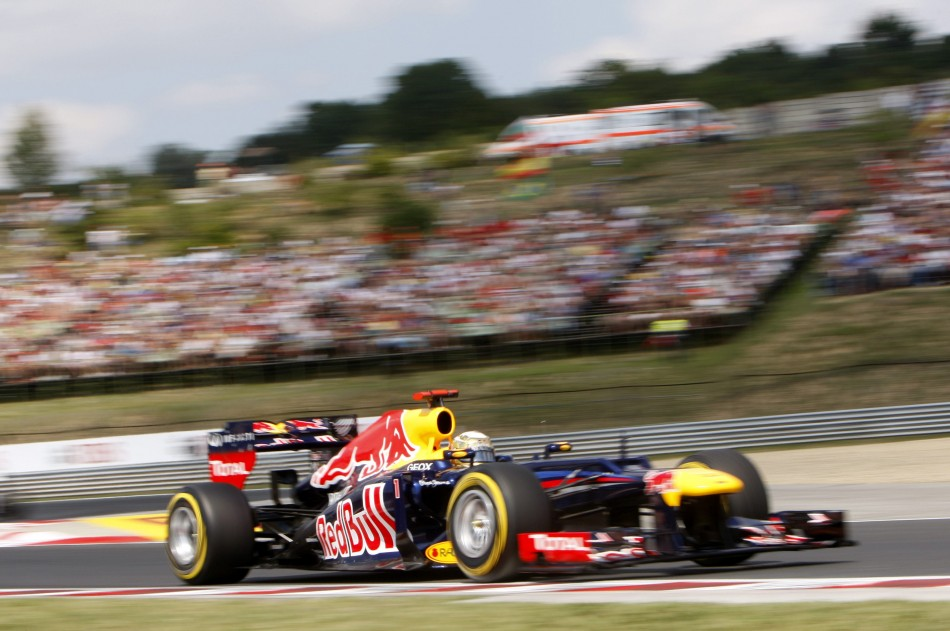 Defending world champion Sebastian Vettel will start his Red Bull from the second row of the grid
