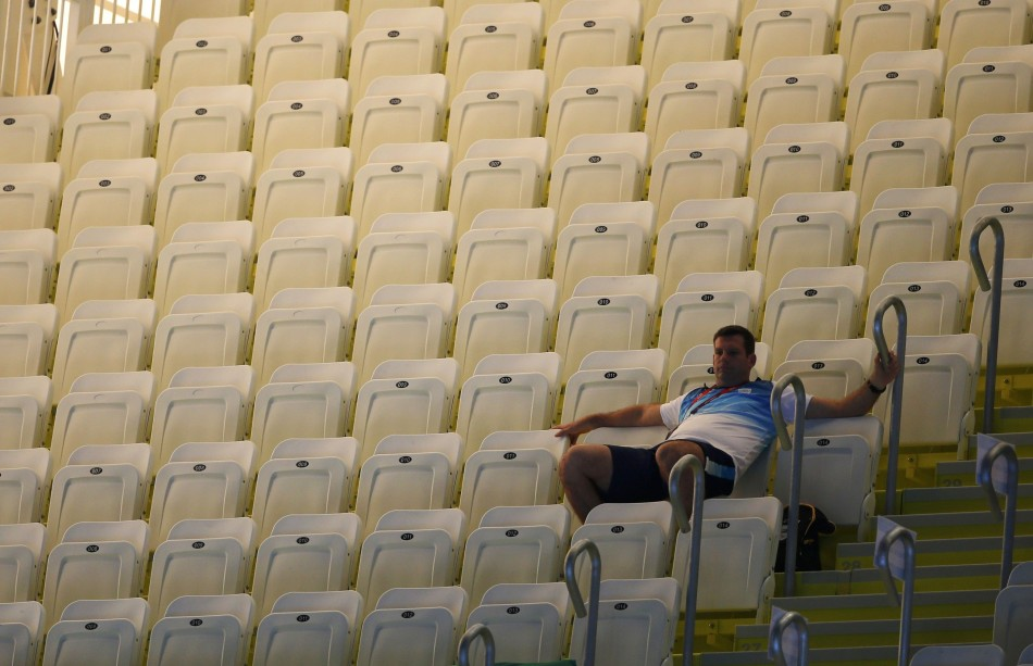Empty seats at the 2012 London Olympics