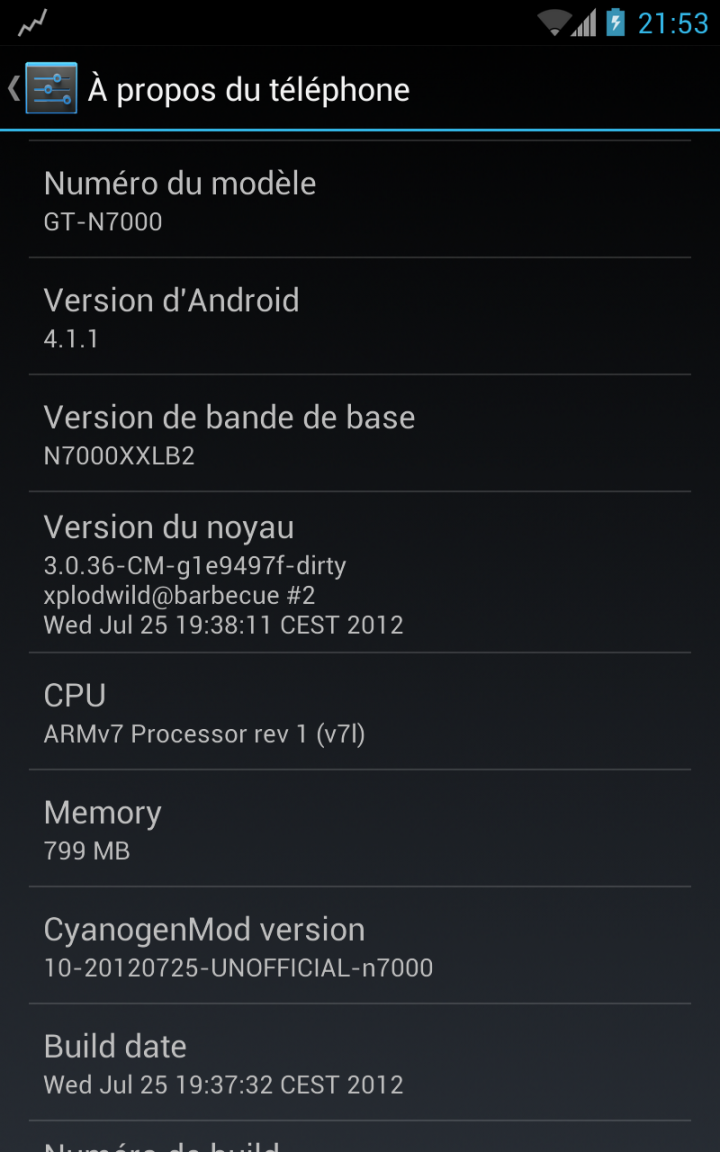 Android 4.1 Jelly Bean Available for Samsung Galaxy Note N7000 with CyanogenMod 10 [Guide] [VIDEO]