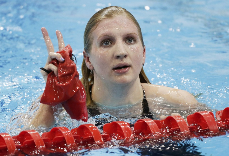 Team GB's Rebecca Adlington