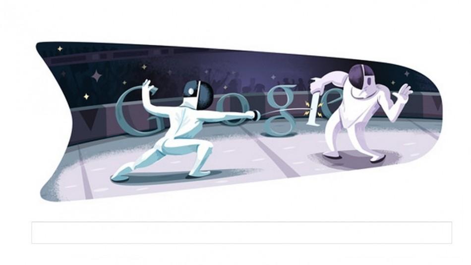 Google Doodle Fencing