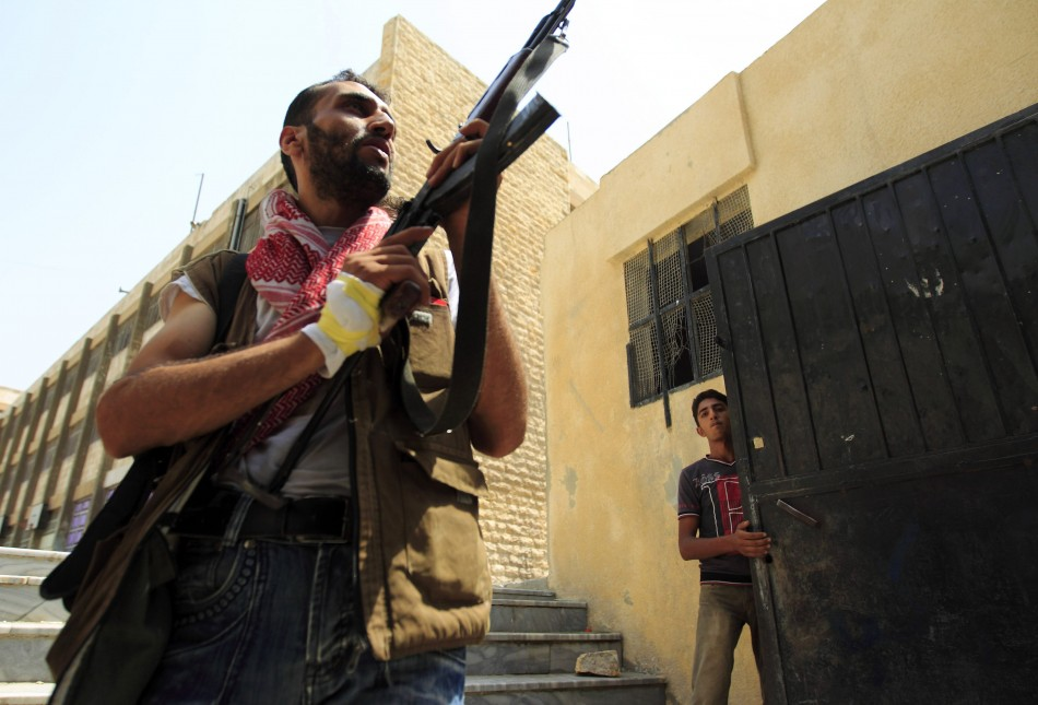 syria civil war  rebels recapture aleppo neighbourhoods