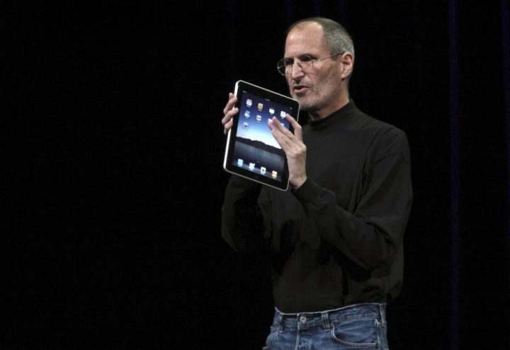 Steve Jobs iPad Launch