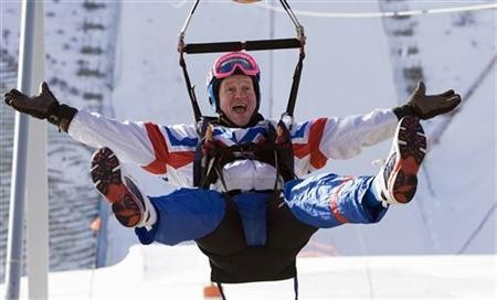 """Eddie """"the Eagle"""" soared to glorious failure at the 1988 Winter Olympics"""