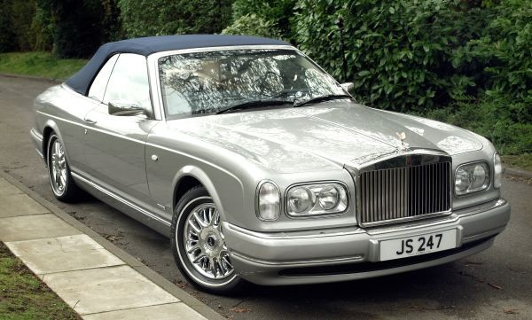 His beloved Rolls Royce Corniche sold for £130,000 (Savile House)