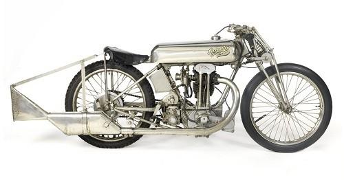 Rare 1929 Grindlay-Peerless-JAP Racing Motorcycle Up for Sale at Bonhams