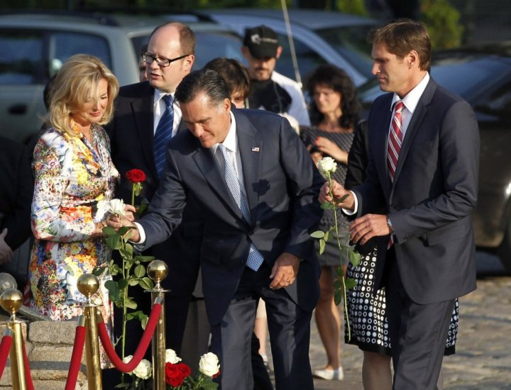 Mitt Romney in Poland