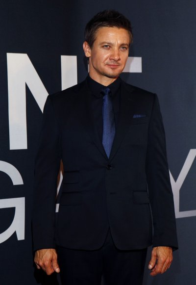 Actor Renner attends the premiere of the film quotThe Bourne Legacyquot in New York
