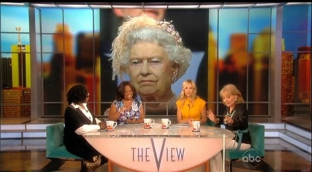 Barbara  Walters on The View