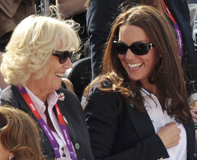 Camilla Parker Bowles reportedly advised Kate Middleton to cut short her hair.