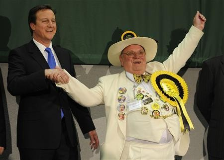 monster raving loony party