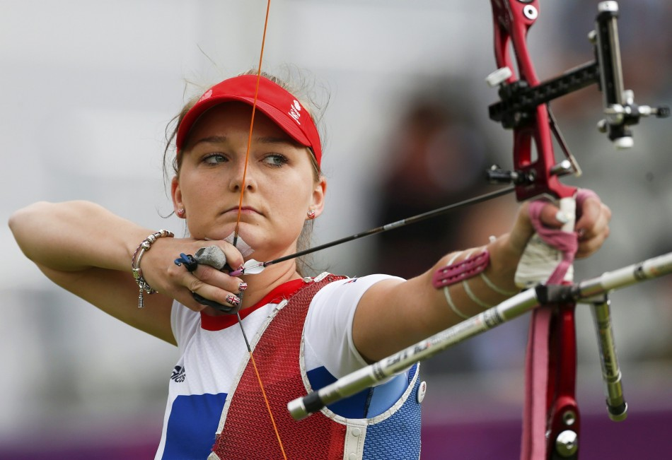 London 2012 Olympics: Team GB's Amy Oliver Exits Women's ...