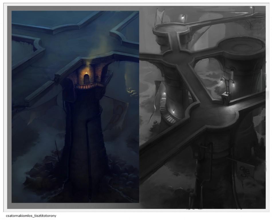 Incredible Adventures of Van Helsing Borgova Concept Art