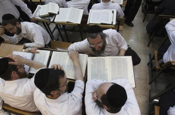 Ultra-Orthodox Jewish men