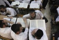 Ultra-Orthodox Jewish men