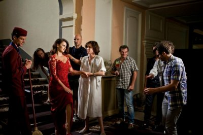 Penelope Cruz at Campari 2013 Calendar Shoot