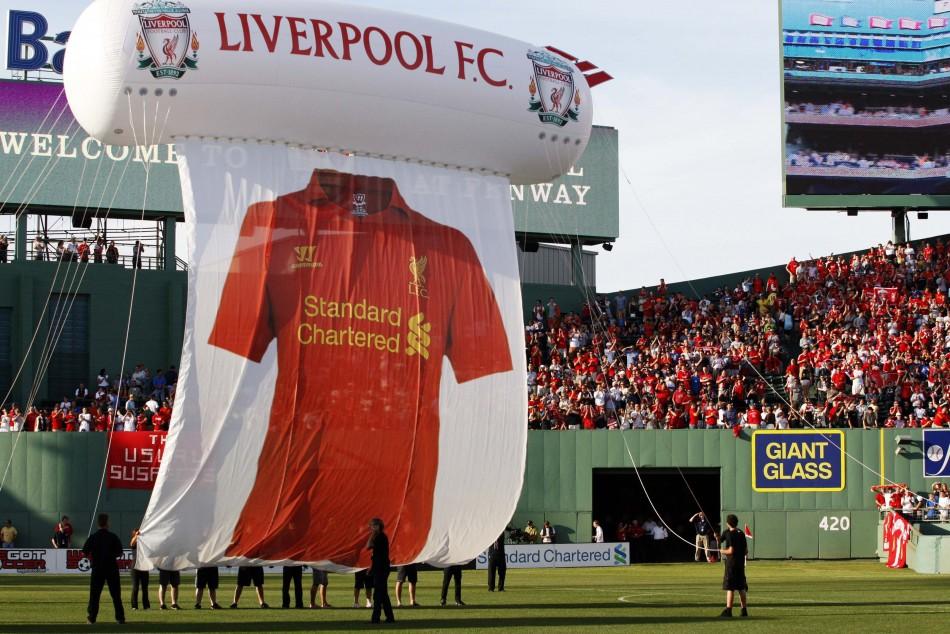 Liverpool's New Kit