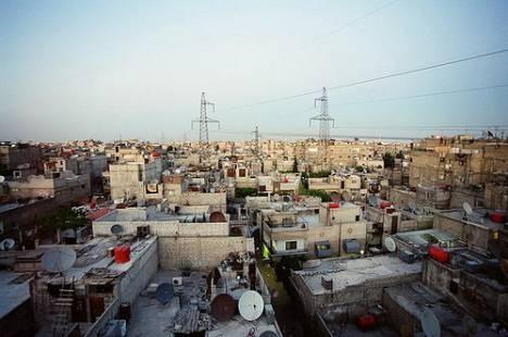 Yarmouk Palestinian refugee camp in Syria. © Hani Naim
