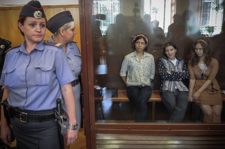 Pussy Riot on trial