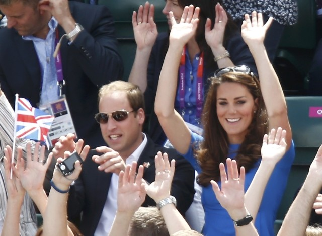 Prince William, Kate Middleton, Prince Harry Sports and Cheering Moments SLIDESHOW