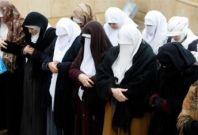 Women protest against Jordan's government in Amman, 4 February 2011.