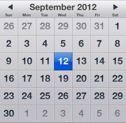 Apple iPhone 5 Release Date Set for 12 September