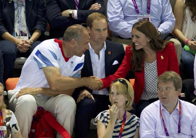 Kate Middleton and Prince William at London 2012