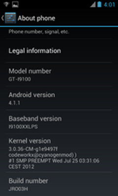 Update Samsung Galaxy S2 to Jelly Bean with JRO03H AOSP ROM [How to Install]