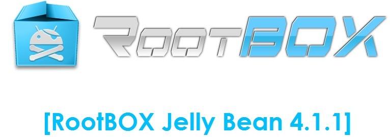 Vanilla RootBox Jelly Bean 4.1.1