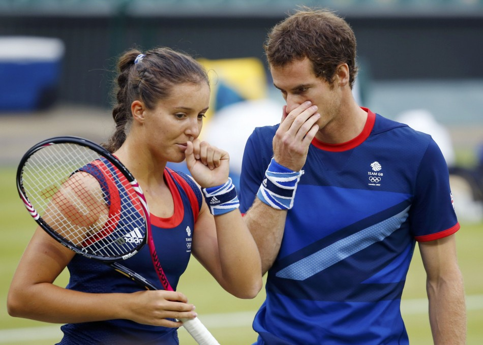 London Olympics 2012: Murray and Robson Reach Mixed Final