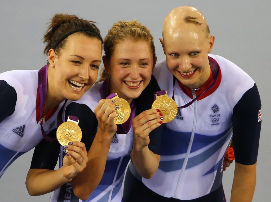 Women's pursuit team