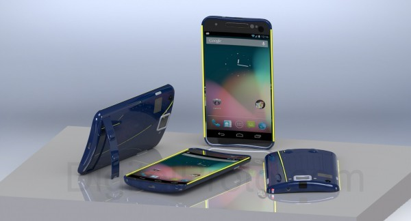 New Concept Designs for Galaxy Nexus Smartphone Emerge