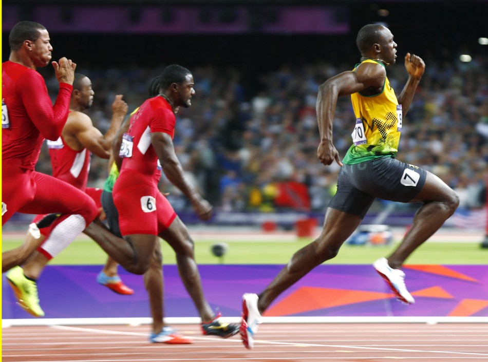 London Olympics 2012: Usain Bolt Claims 100m Gold With New ...