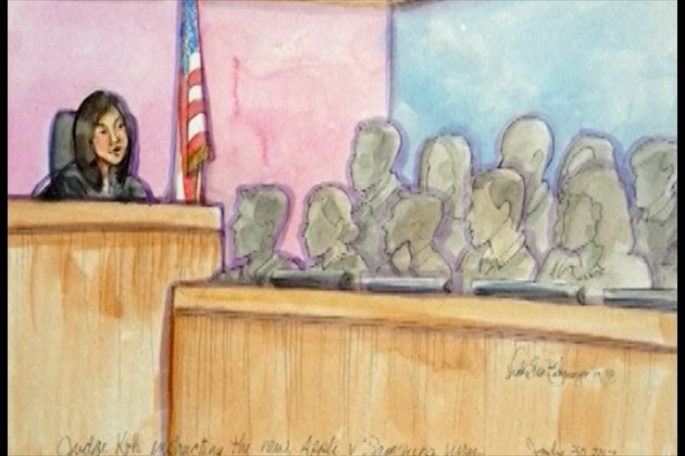 Samsung vs Apple Patent Trial