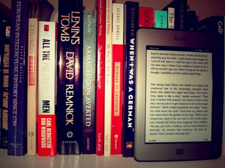 Kindle Ebooks Outselling Printed Books