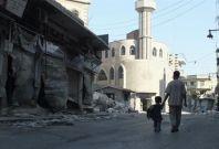 Qusour Homs Syrian President Bashar Assad forces assault