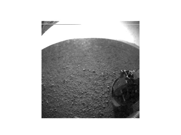 A picture from Mars