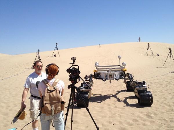 Curiosity in the desert