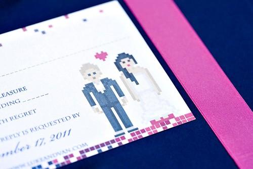 8 bit wedding