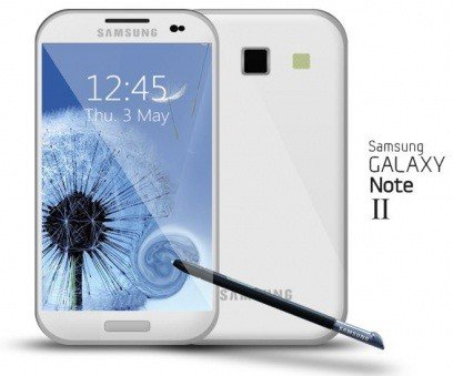 Samsung Galaxy Note 2 Rumors Heat Up As Alleged Image Shows Front Body And Larger, Wider Display [FEATURES]