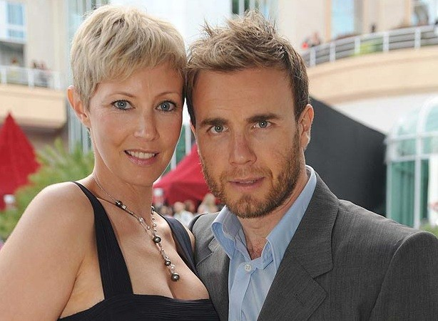 Gary Barlow and wife Dawn