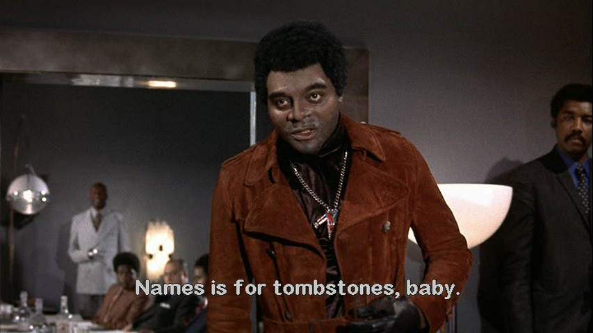 Names is for Tombstones Baby