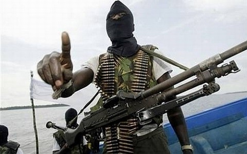 Suspected pirates have hijacked a vessel in the Gulf of Guinea
