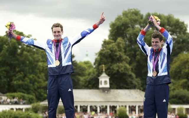 Alistair Brownlee and Jonny Brownlee