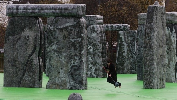 Bouncing on Stonehenge