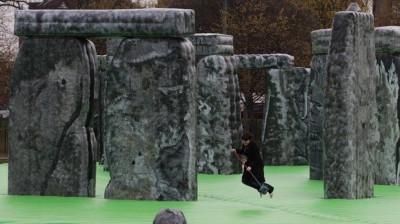 Bouncing on Stonehenge