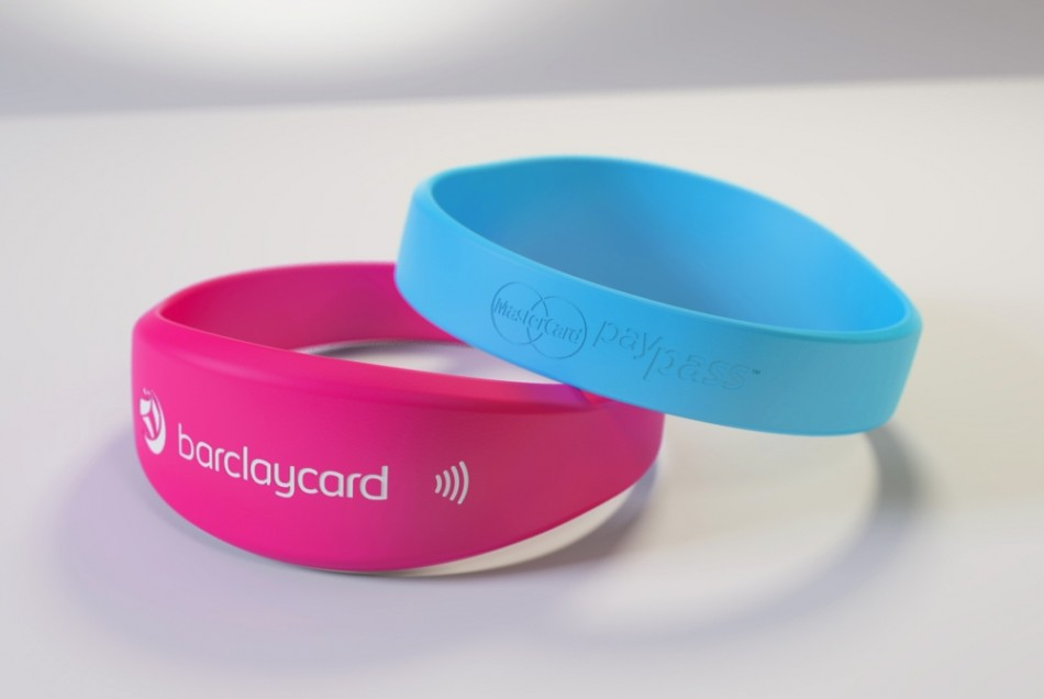 NFC Focus Barclaycard PayBand Near Field Communication Contactless Payment Wireless Festival