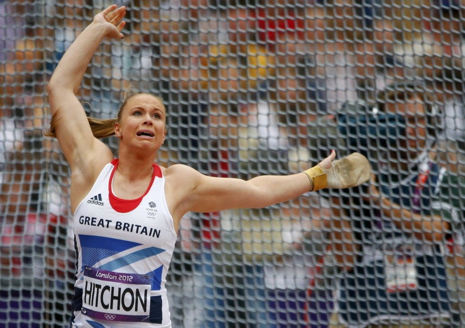 London 2012 Olympics: Sophie Hitchon of Great Britain