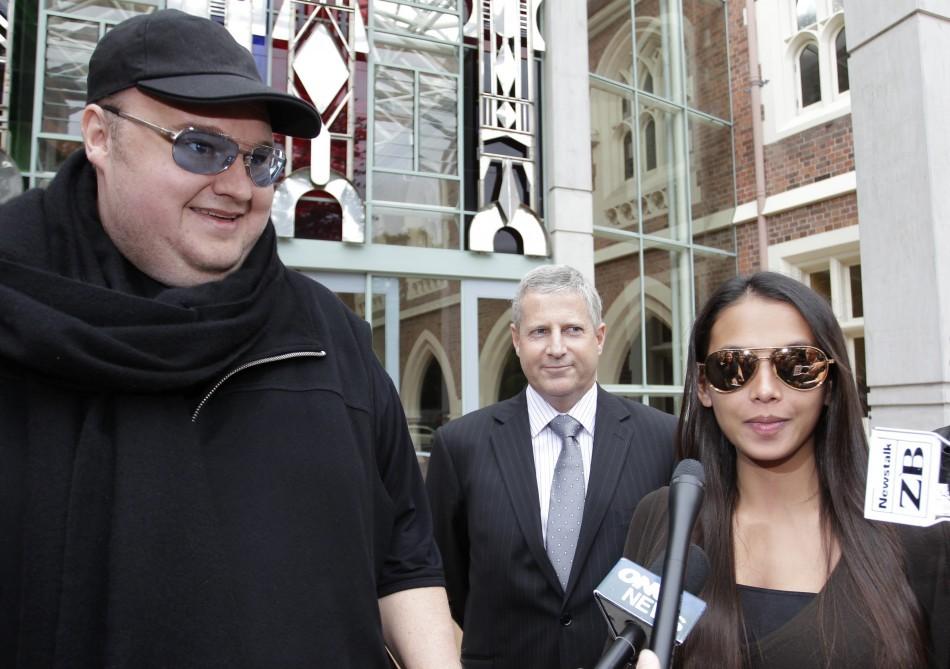 Kim Dotcom and wife
